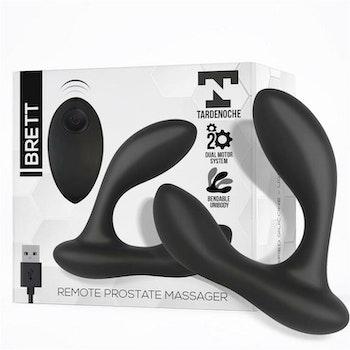 Brett, Prostatastimulator med fjärrkontroll