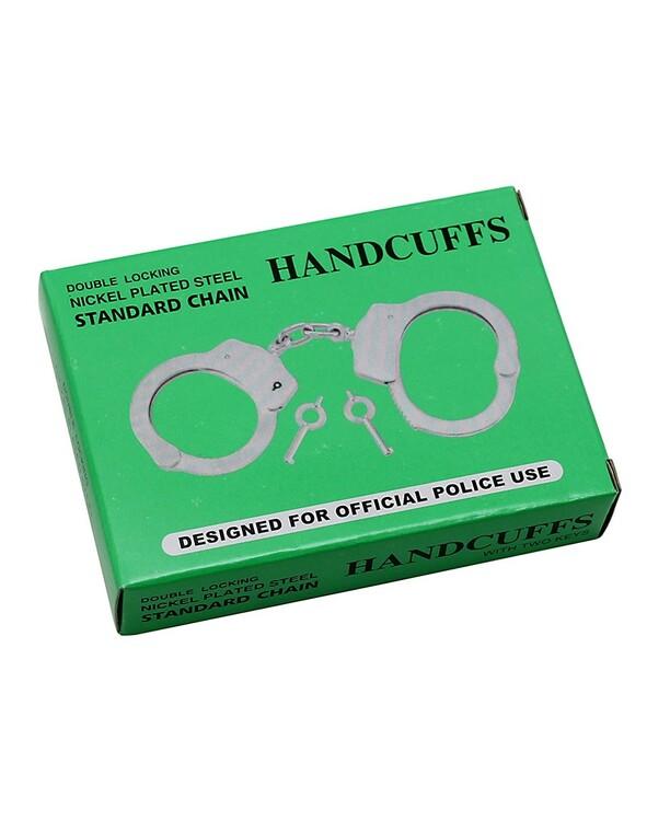 Rimba, Metal police hand cuffs, extra heavy