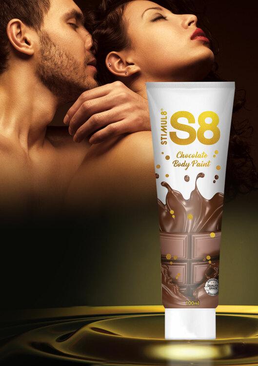 S8 Chocolate bodypaint