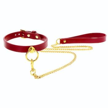 TABOOM - O-Ring Collar and Chain Leash