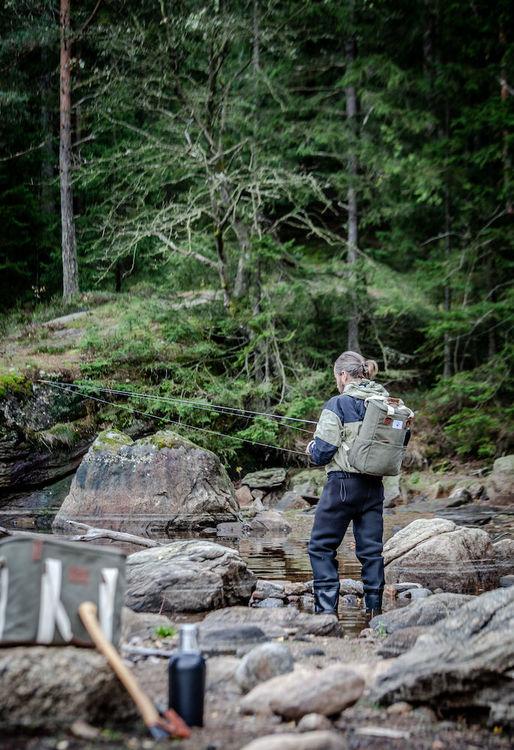Orrefors hunting kylryggsäck