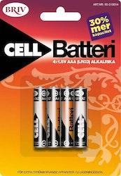 Batteri AAA LR03 4-pack