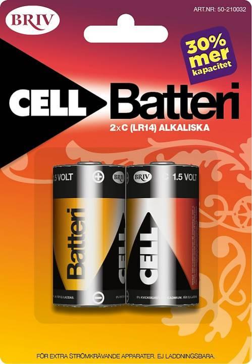 Batteri C LR14 2-pack
