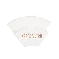 Hållare för kaffefilter med text