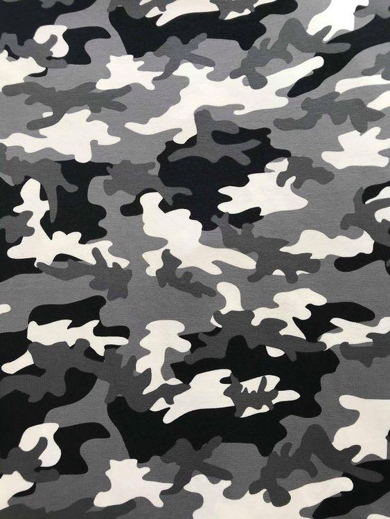 Trikå- Camouflage grå