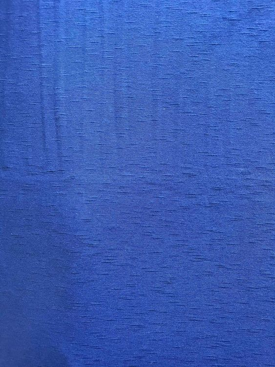 Trikå- Blå Enfärgad