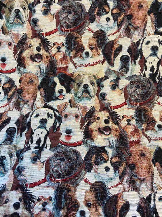 Möbeltyg Hund
