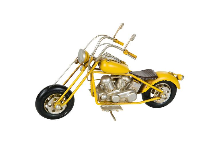 Motorcykel Gul