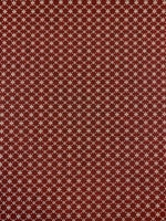 Möbeltyg Röd Fyrklöver