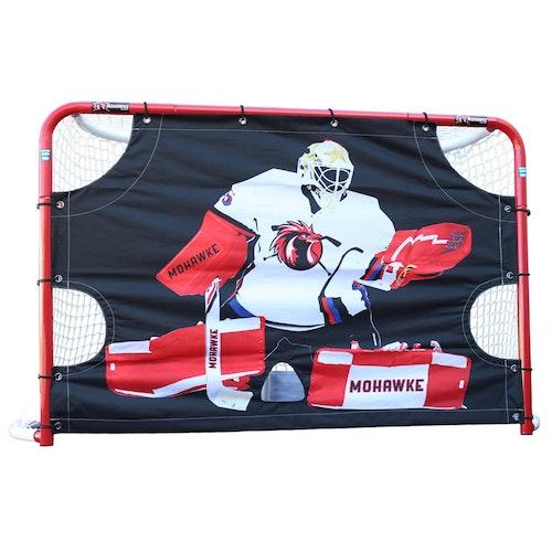 Mohawke Shooting Target Hockey till fullstort mål