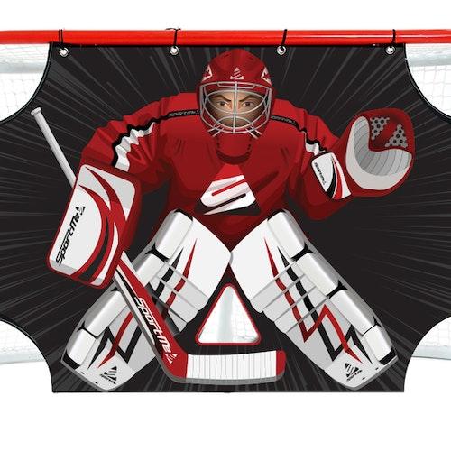 Shooting Target till hockeymål