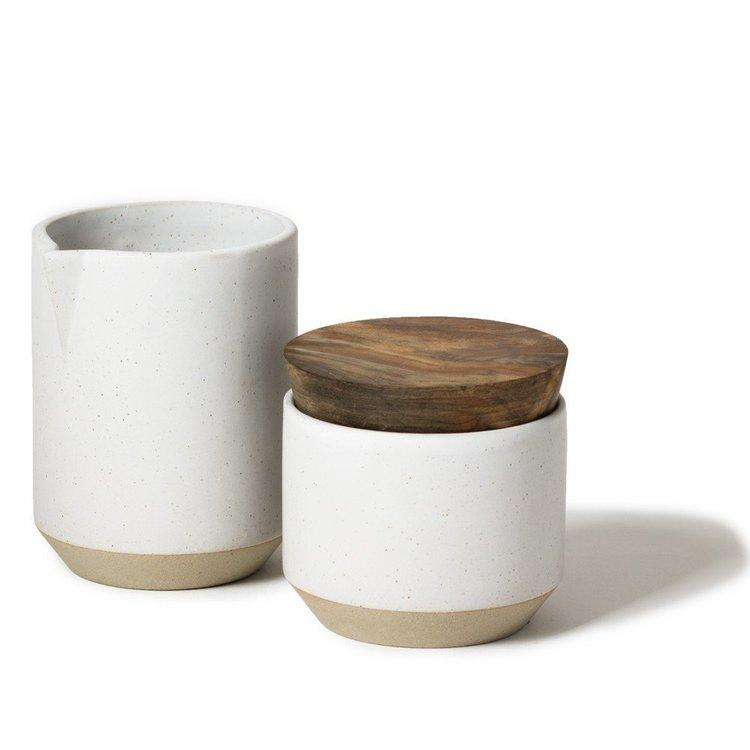 Sockerset i Keramik