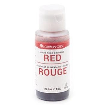 Konditorfarge Rød29,5ml - LorAnn