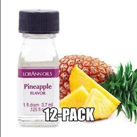 Ananasessens Eske med 12 flasker à 3,75ml