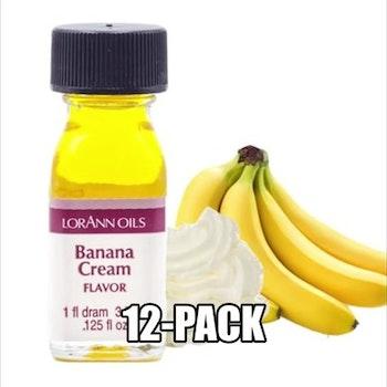 Bananessens Eske med 12 flasker à 3,75ml