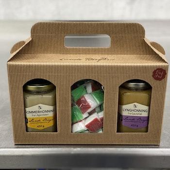 Stor Gaveeske med Honning og Sukkerflesk