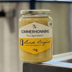 1kg Lindehonning på glass
