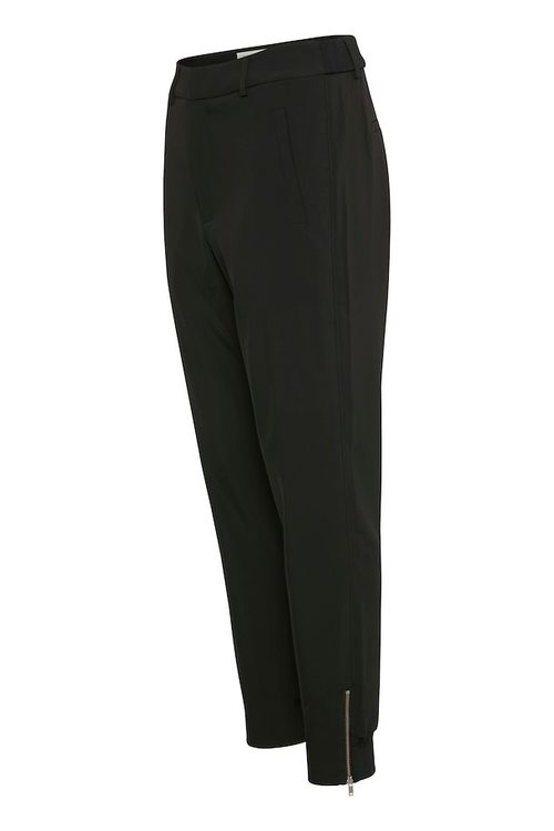 InWear Nica L Pants - Bukse Sort