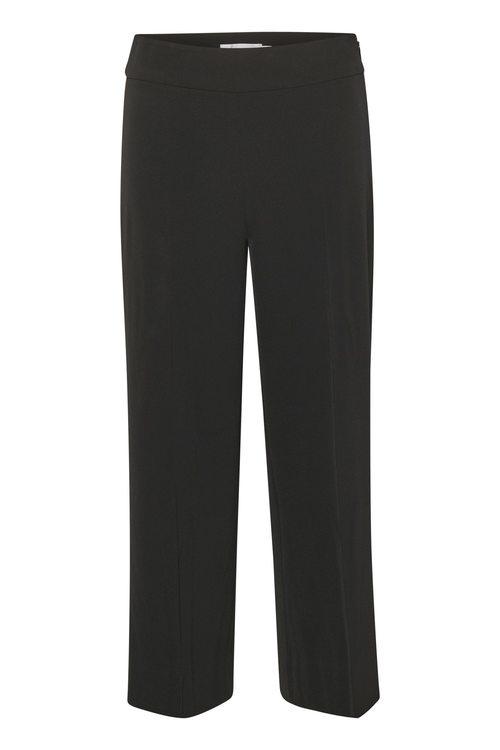 InWear Zhen Culotte Pant - Bukser Sort