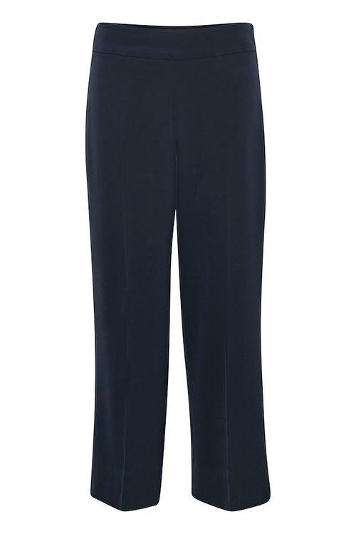 InWear Zhen Culotte Pant - Bukse Marine Blå