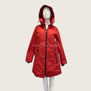 Normann Coat ytterjakke/regnjakke rød