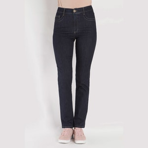 Jeans by Bessie - Signe NV 203 - lengde 30 mørk blå denim