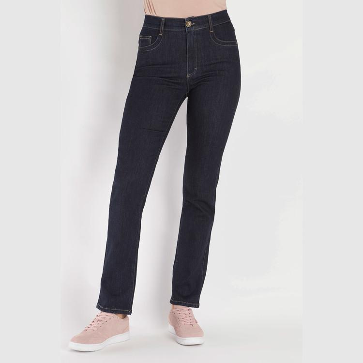 Jeans by Bessie - Signe NV 203 - lengde 32 mørk blå denim