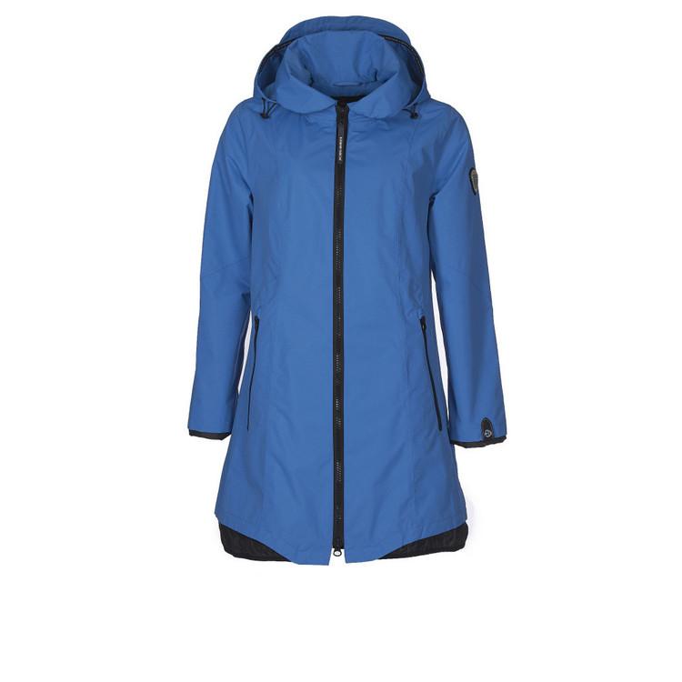Normann Coat ytterjakke/regnjakke lys blå