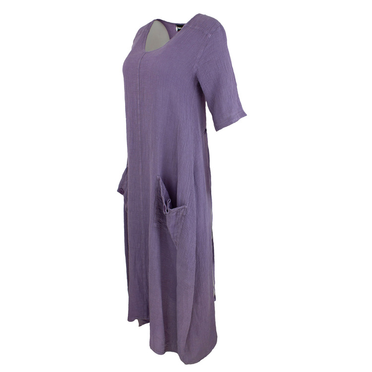 Bohéme lang kjole - Grape