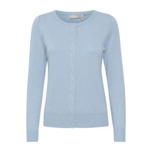 Fransa Zubasic 60 Cardigan - Cashmere Blue