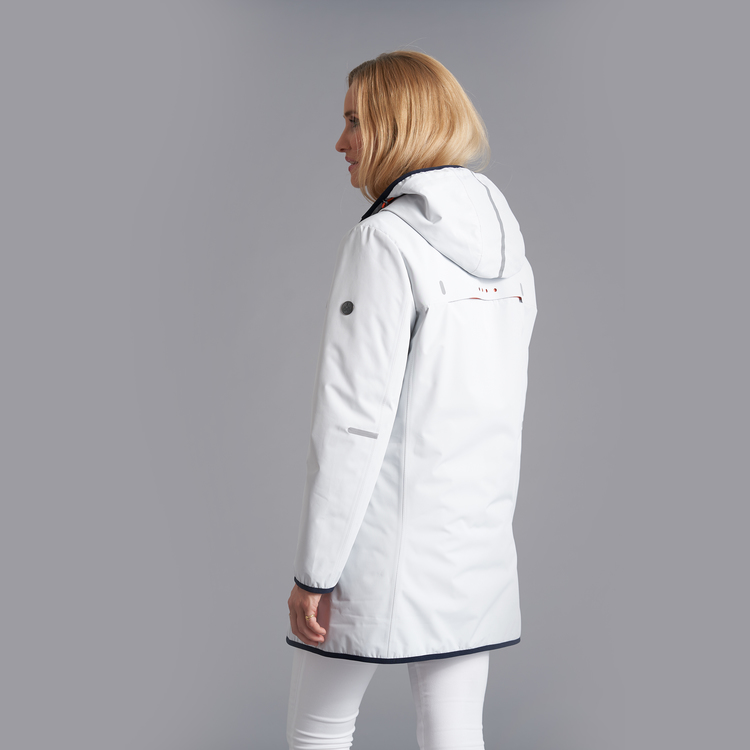 Junge Dortha vendbar jakke - Offwhite
