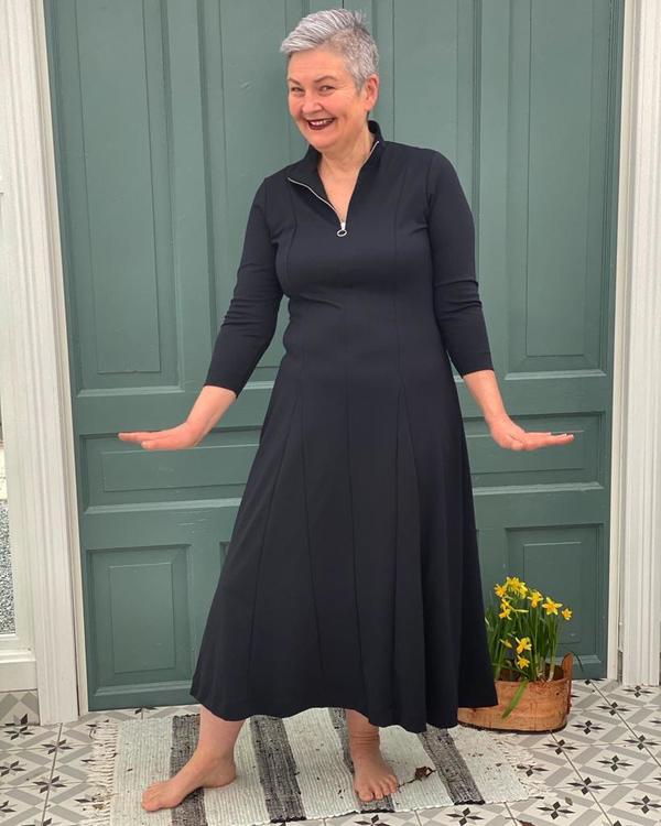 InWear VeerIW kjole - marineblå
