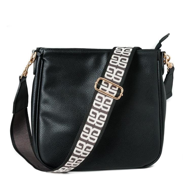 Rosenvinge Hermine crossbag, svart