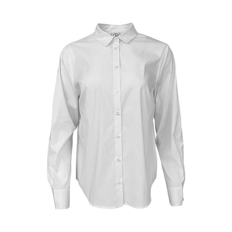 2-Biz Siff Skjortebluse hvit