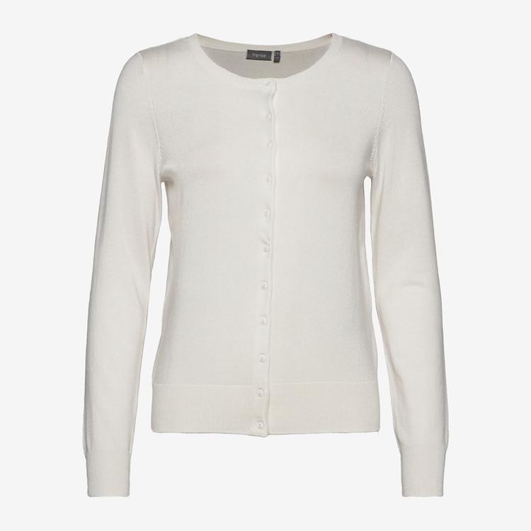 Fransa Zubasic 60 Cardigan - Off-white - E