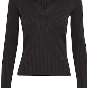 InWear Trinne  Polo Pullover svart