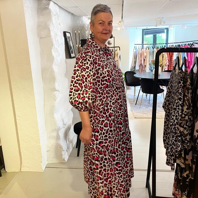 Noella Pink Maxi kjole