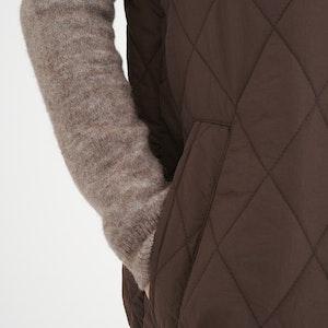InWear Callas Quilted Vest 2 fargar