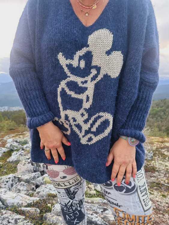 Mikke genser 4 fargar