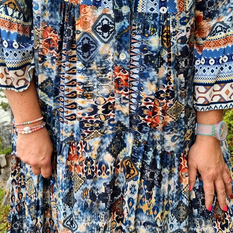 Maxi kjole one size 2 fargar