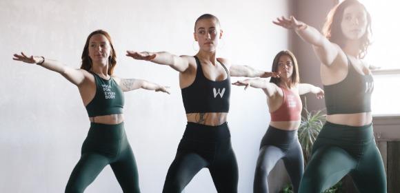 Topp, Warrior Yoga