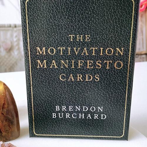 Kopia The motivation manifesto cards