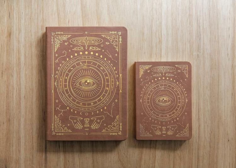 Magic of I journal A5, Brown