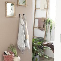 Spegel med kanter av bambu L