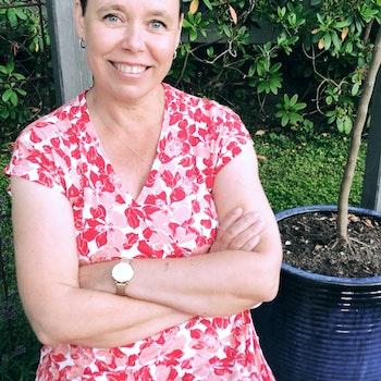 Lindas Rosenkvarts för bröstcancerförbundet