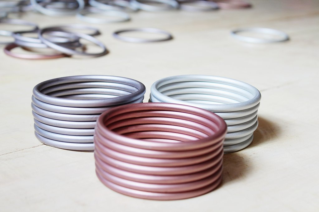Sling Rings, Silver