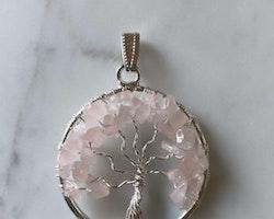 Rosenkvarts, livets träd