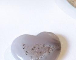 Agat druse, hjärta A   (stlk M)