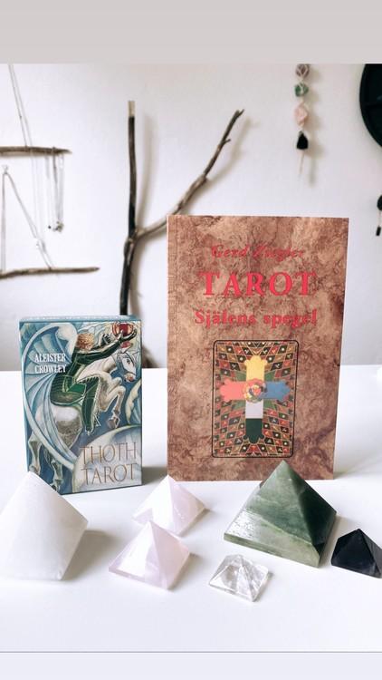 Thoth Tarot, kort  (Svenska)