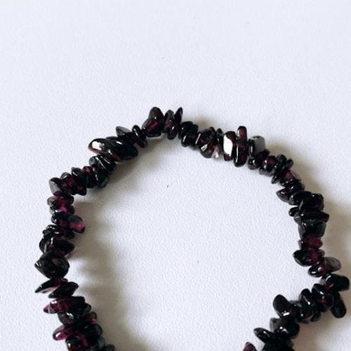 Granat, healing-armband